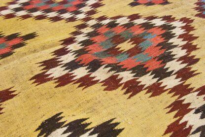 Saffron Qashqai kilim